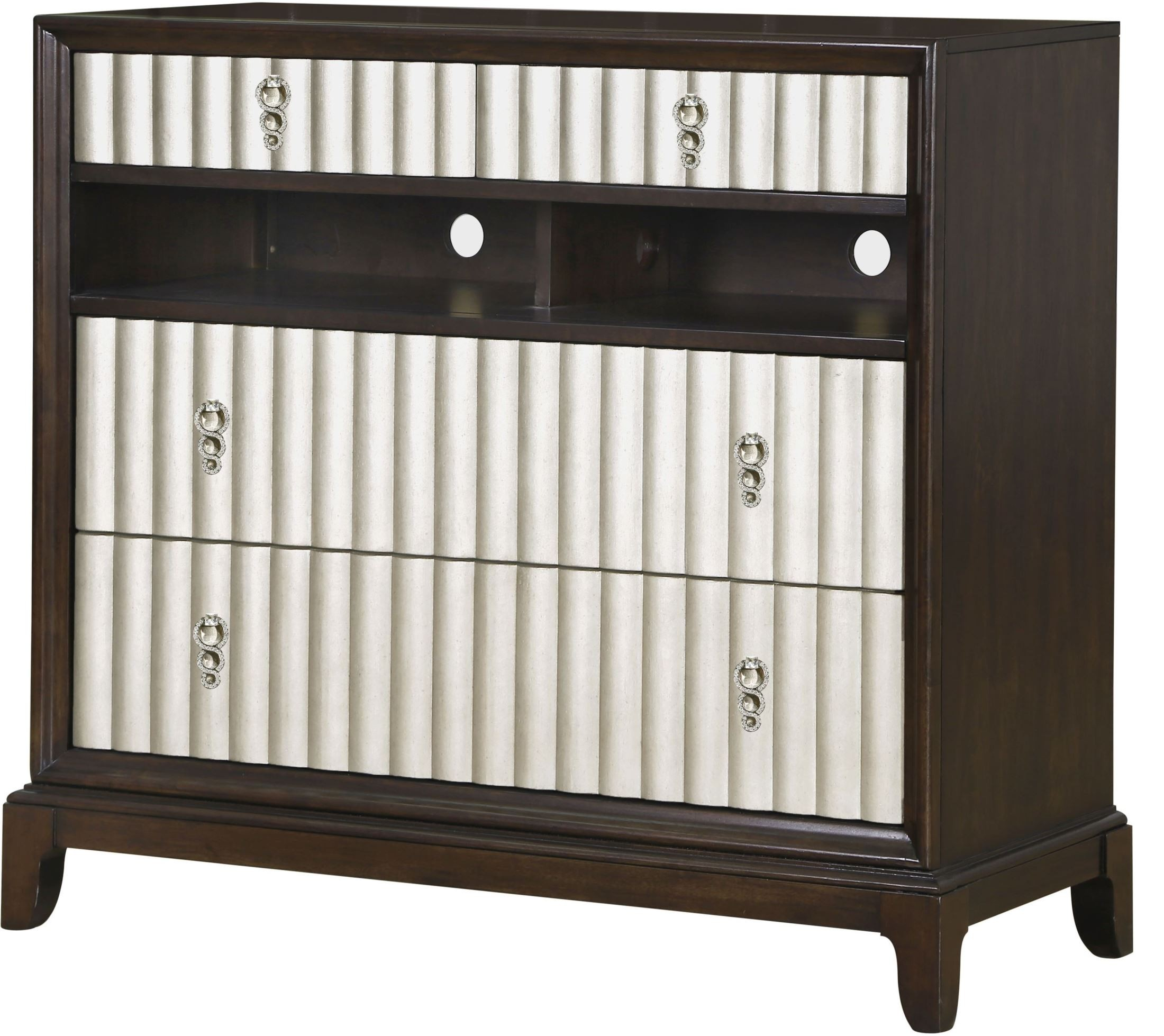 Gramercy Sable Wood Media Chest From Magnussen Home B3564 36 Coleman Furniture