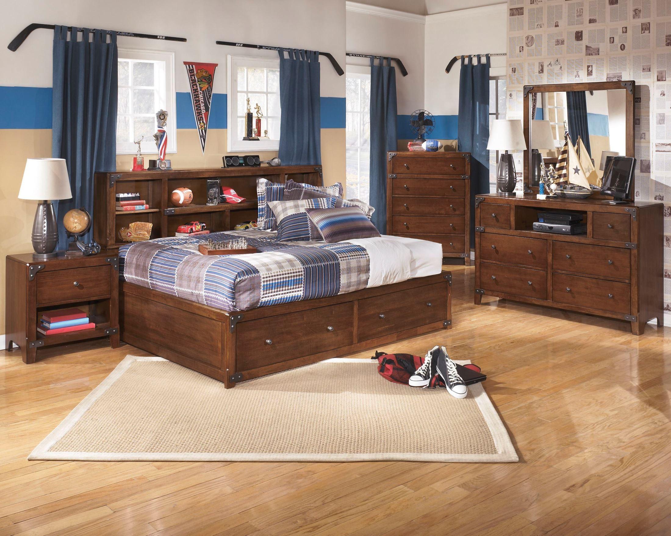 Delburne youth bookcase storage bedroom set from ashley b362 85 51 82 coleman furniture - Juvenile bedroom sets ...