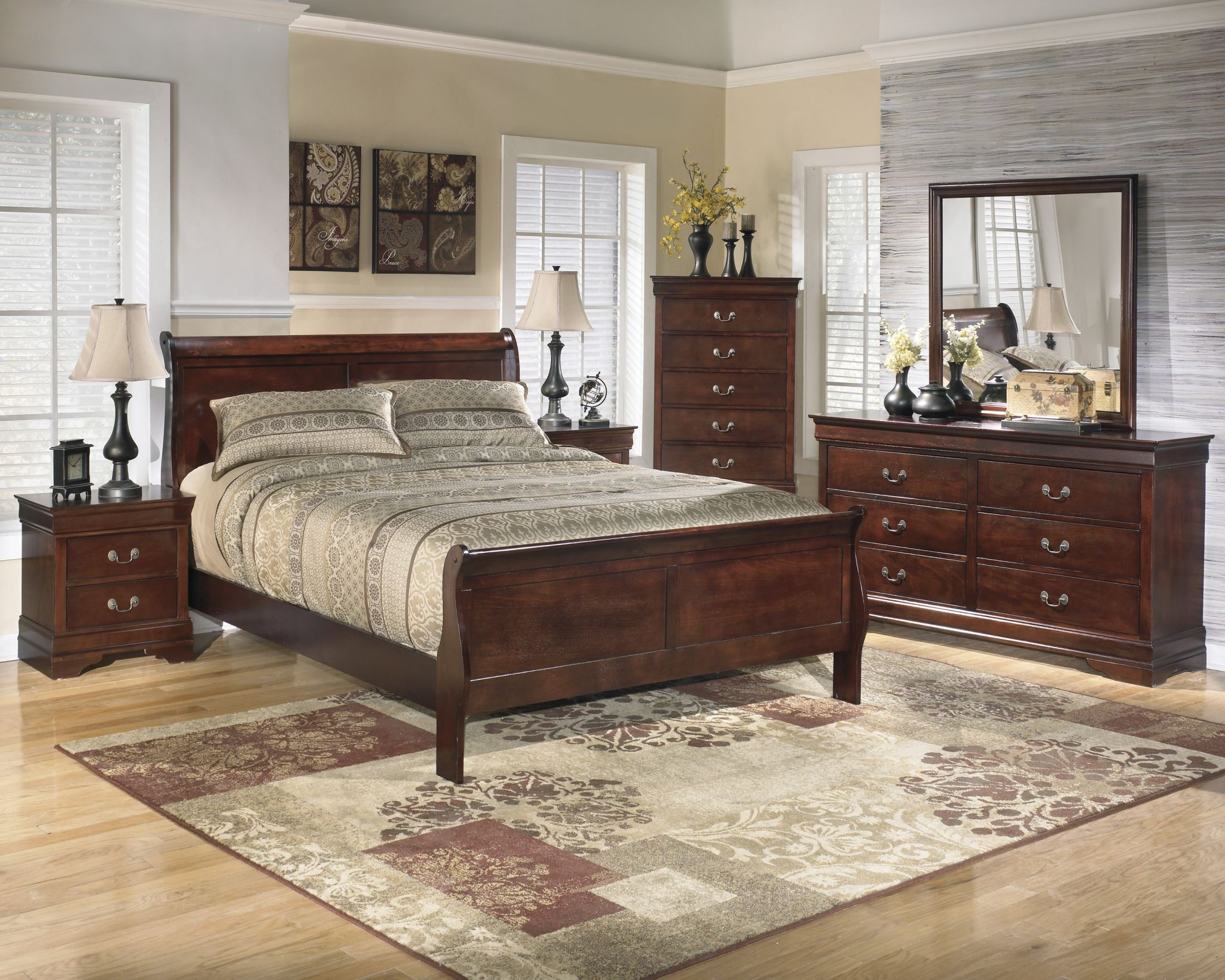 Alisdair Queen Sleigh Bed From Ashley Coleman Furniture