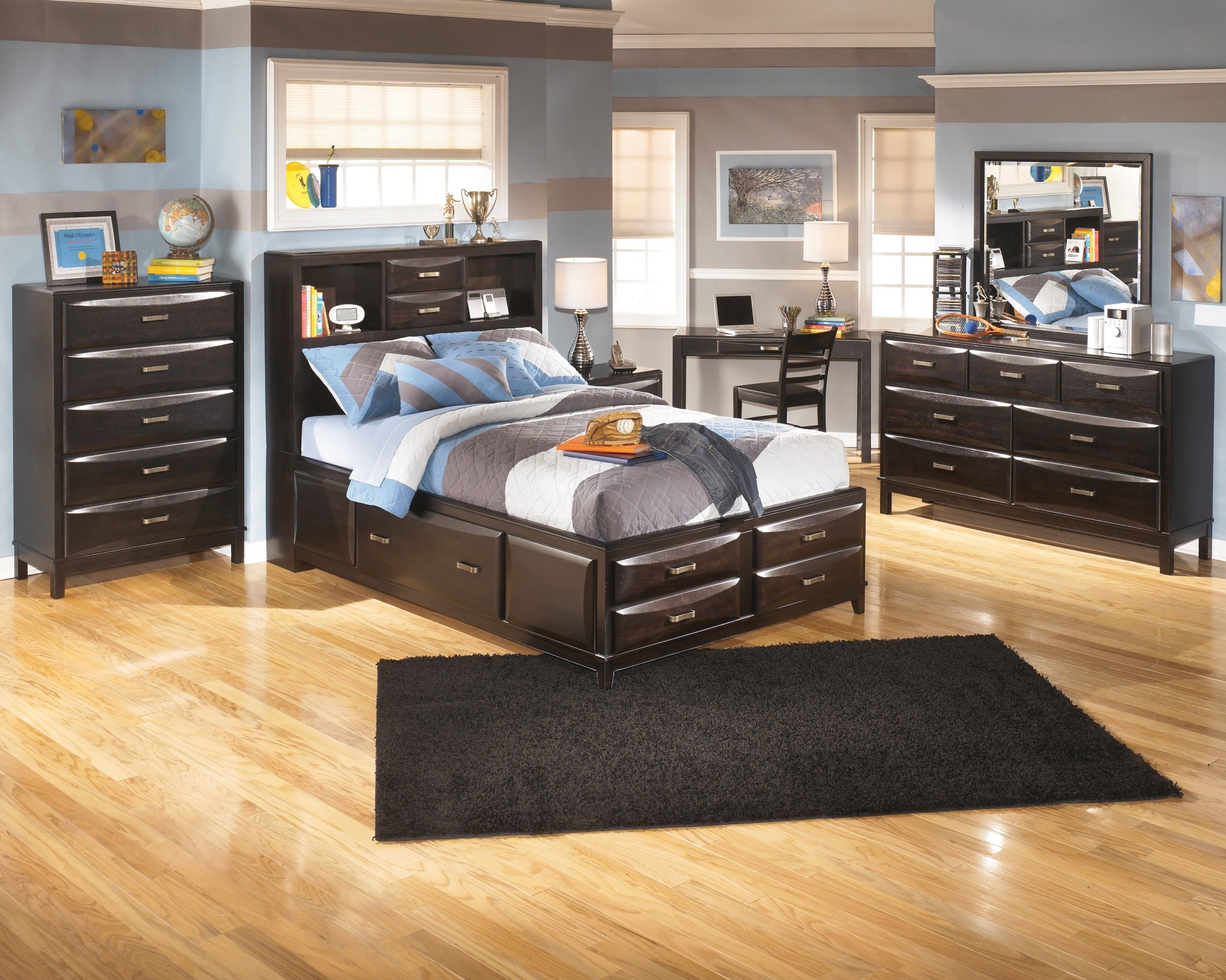 kira youth storage bedroom set from ashley b473