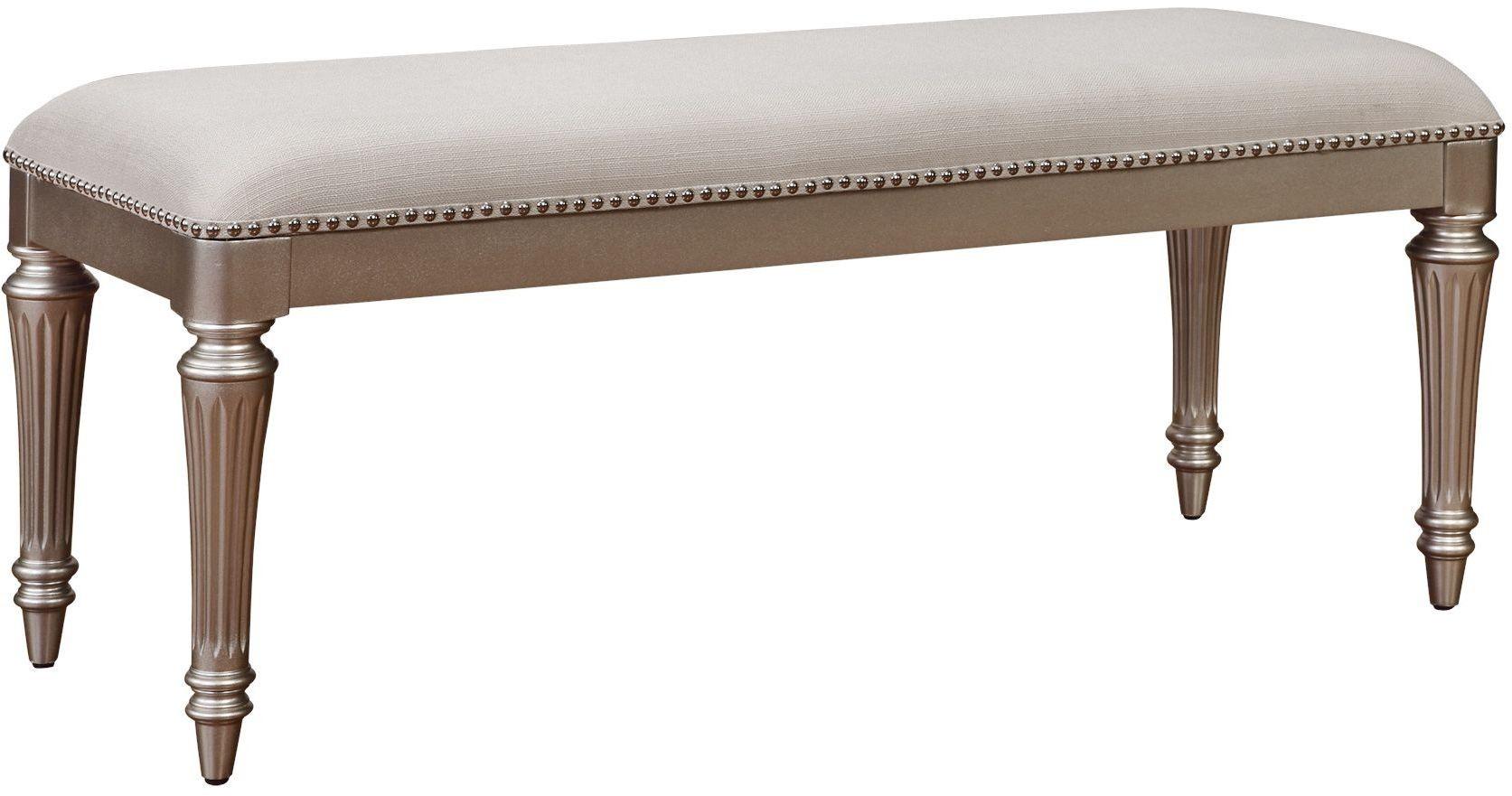 Regency Park Pearlized Silver Panel Bedroom Set B00481 5h
