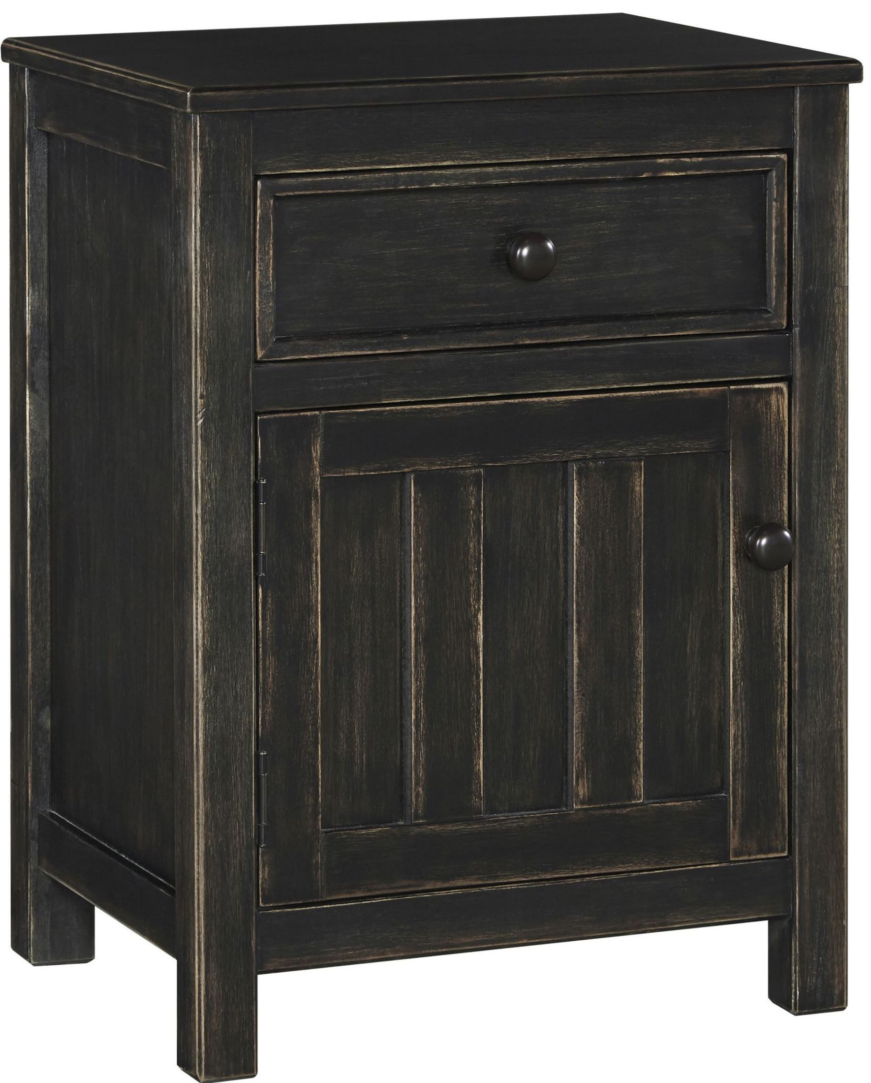 Jaysom Black Night Stand B521 91 Ashley