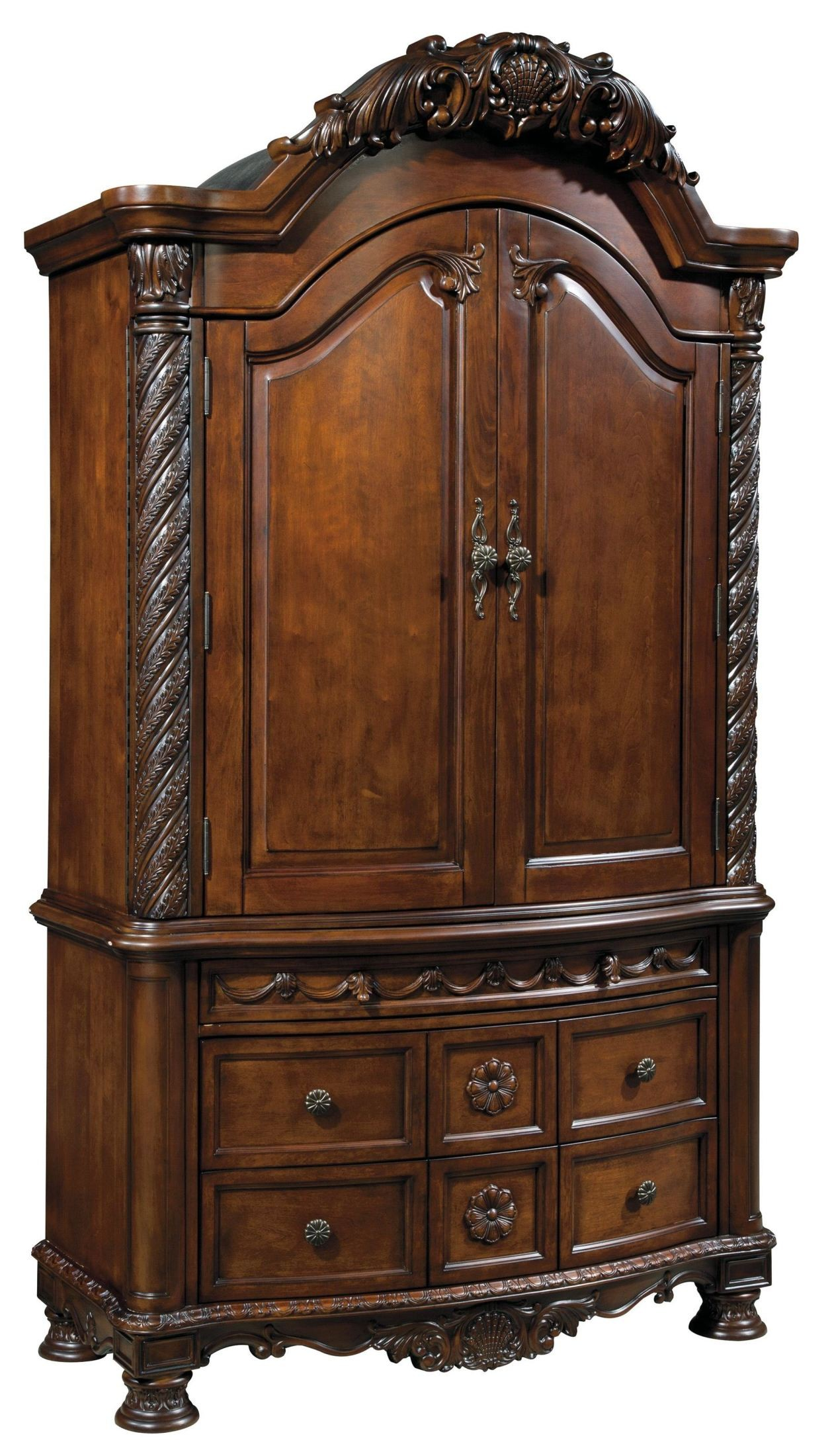 North Shore Armoire B553 49 Ashley Furniture Bedroom Armoire
