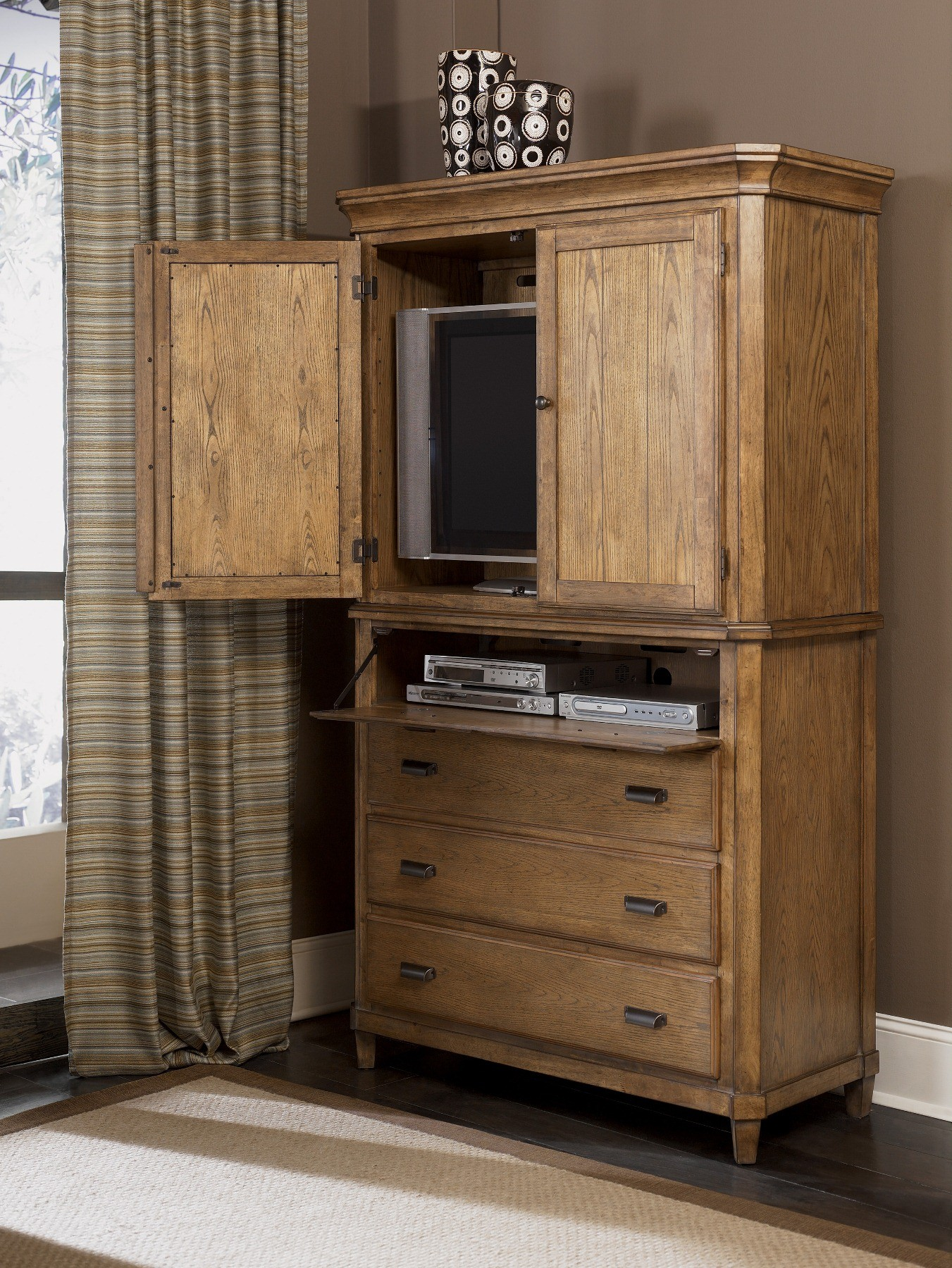Danbury Heights Media Chest W Hutch By Ashley Furniture B601 40 Media Console