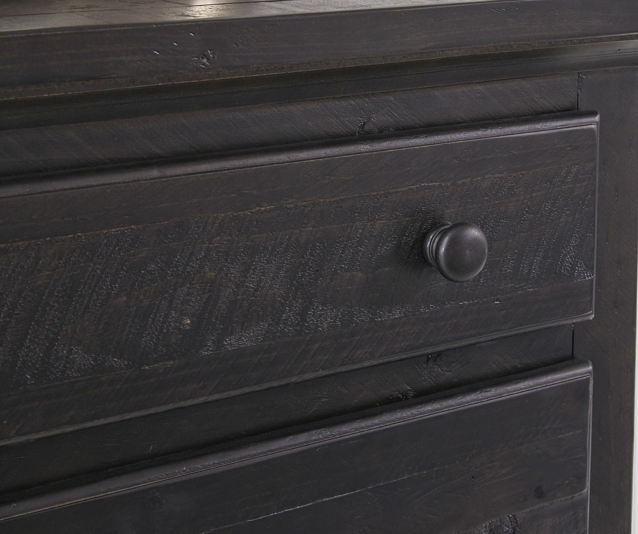 Sharlowe Charcoal Storage Panel Bedroom Set From Ashley
