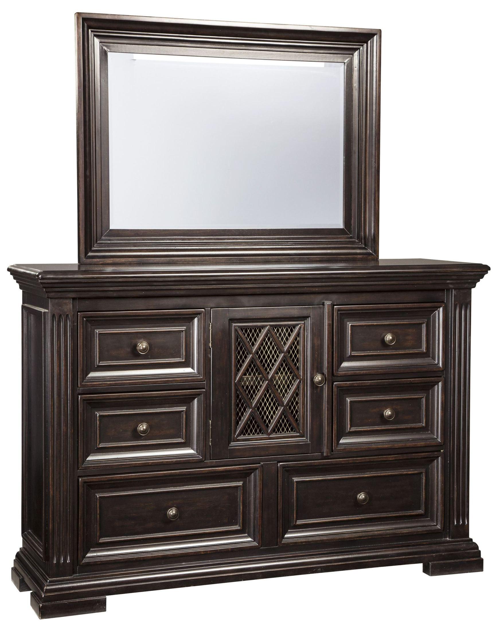 Willenburg dark brown panel bedroom set b643 57 54 96 ashley for Dark brown bedroom furniture