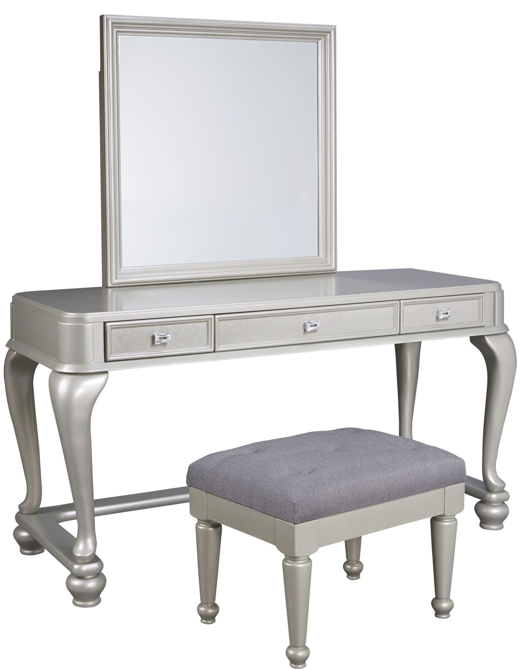 Silver Bedroom Furniture : ... Silver Bedroom Set from Ashley (B650-157-54-96)  Coleman Furniture