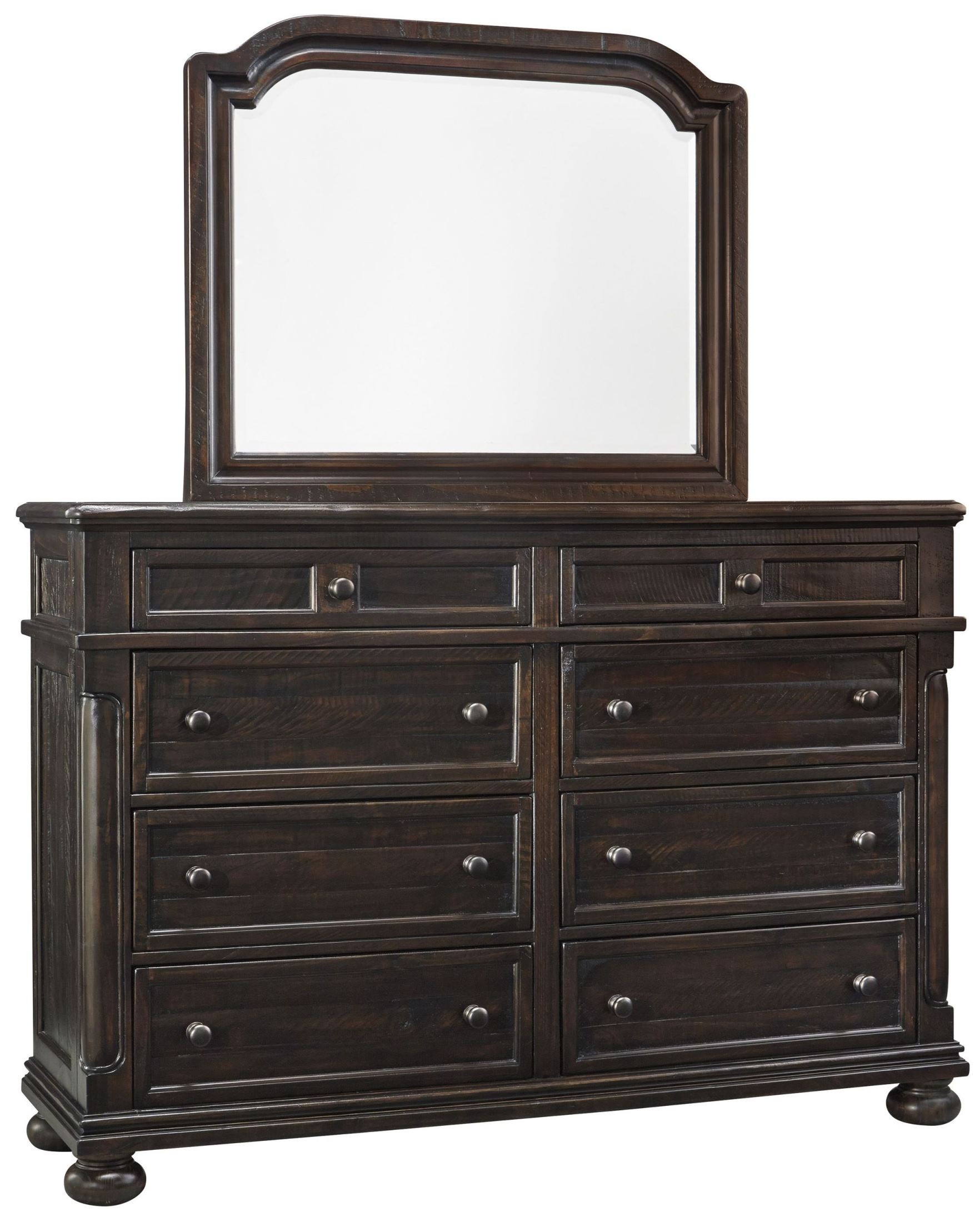 gerlane dark brown platform bedroom set b657 54 57 ashley