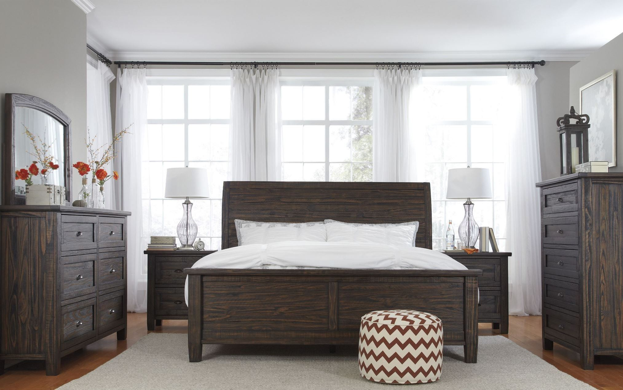 dark brown bedroom set from ashley b658 54 57 96 coleman furniture