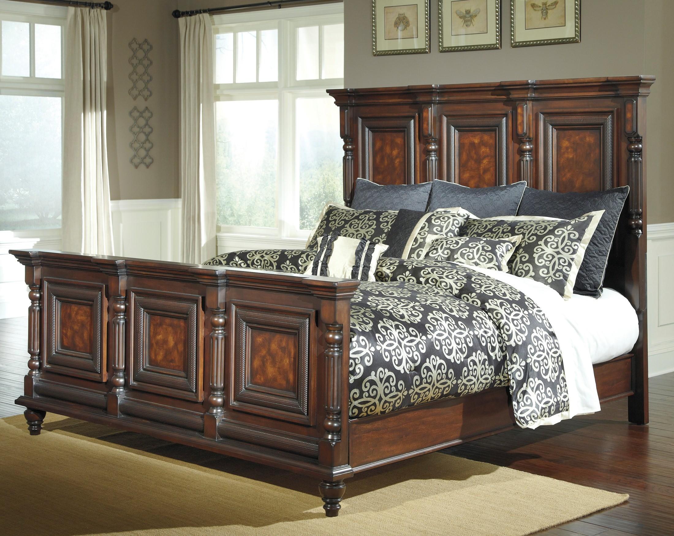 Key town asl b668 158 156 94 ashley furniture for Ashley furniture key town bedroom set
