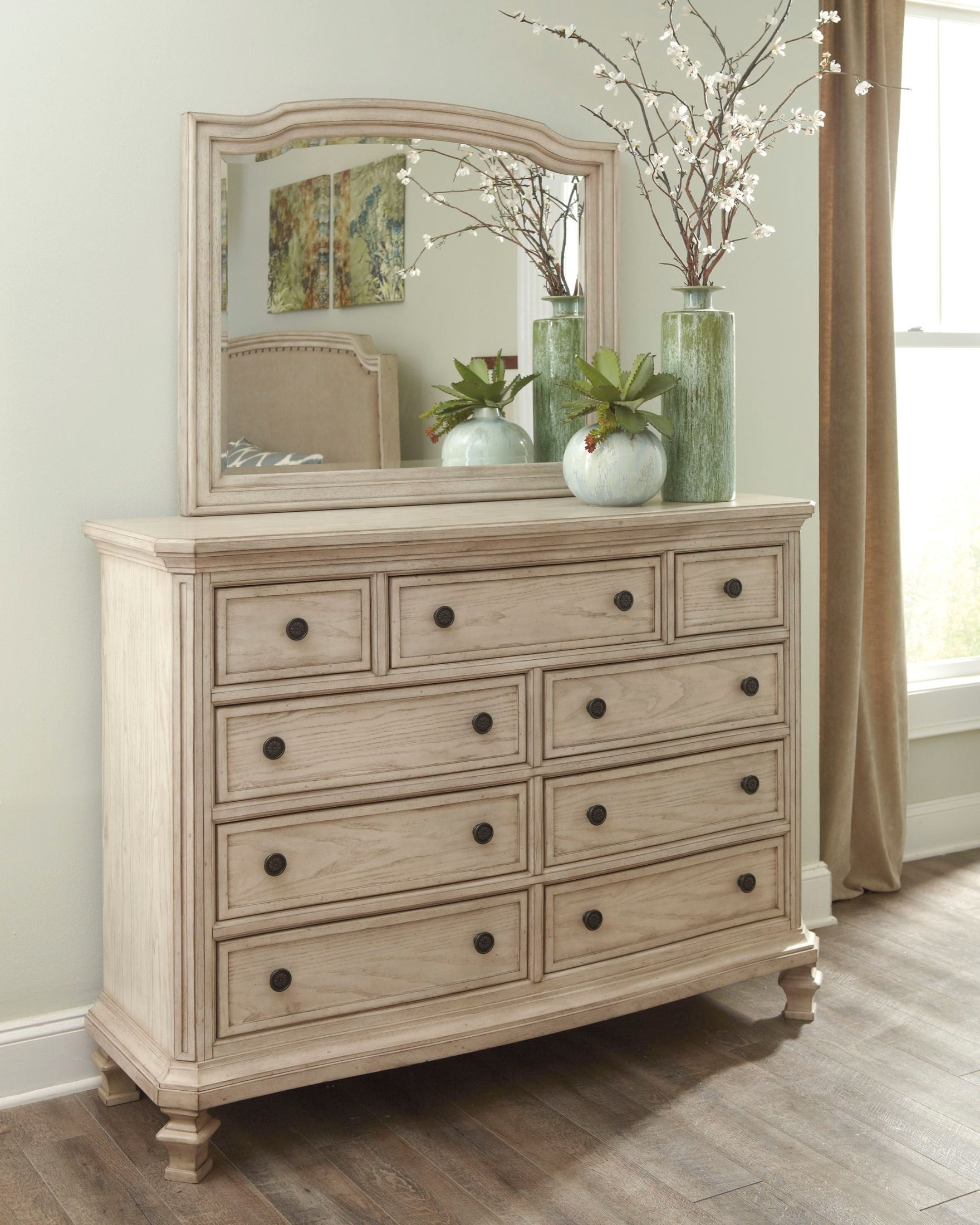 Next Mirrored Bedroom Furniture Demarlos Upholstered Panel Bedroom Set From Ashley B693 77 74 96