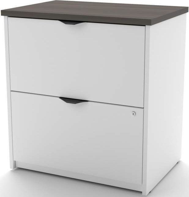 innova white and antigua u shaped desk with accessories 92851 52 bestar. Black Bedroom Furniture Sets. Home Design Ideas