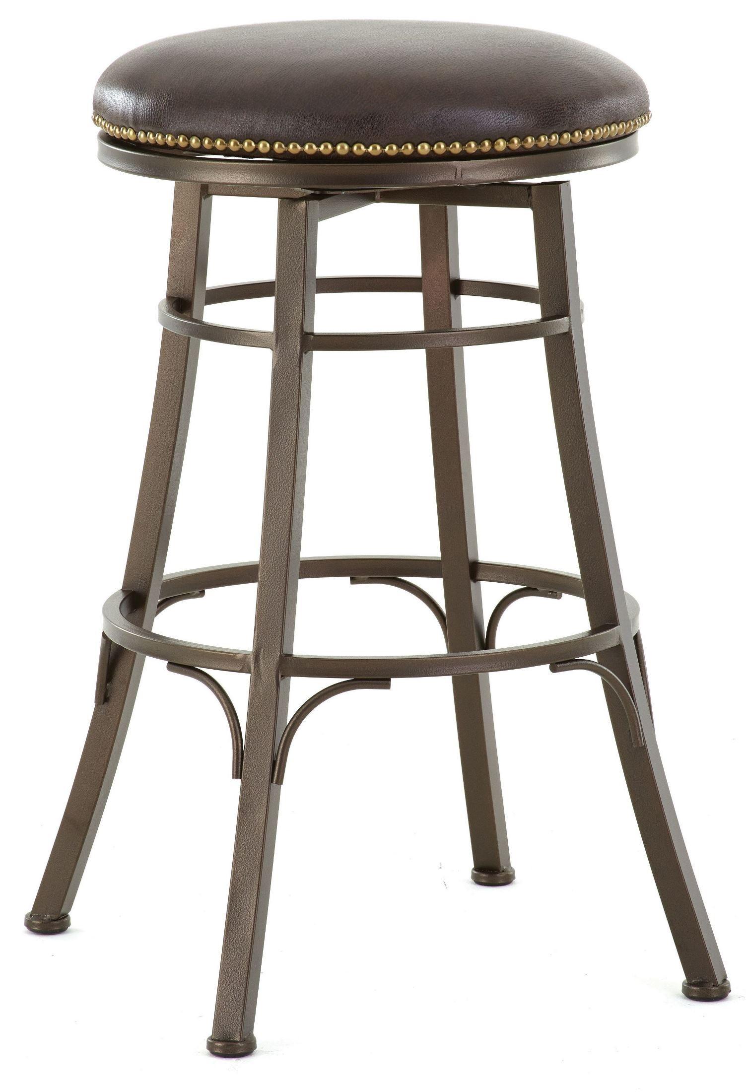 bali bonded leather backless swivel bar stool from steve silver bl500sbc coleman furniture. Black Bedroom Furniture Sets. Home Design Ideas