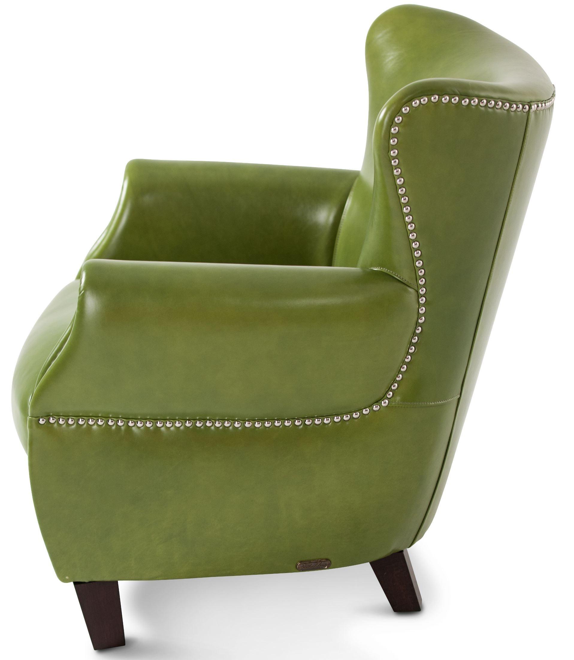 Pistachio Green Leather Sofa