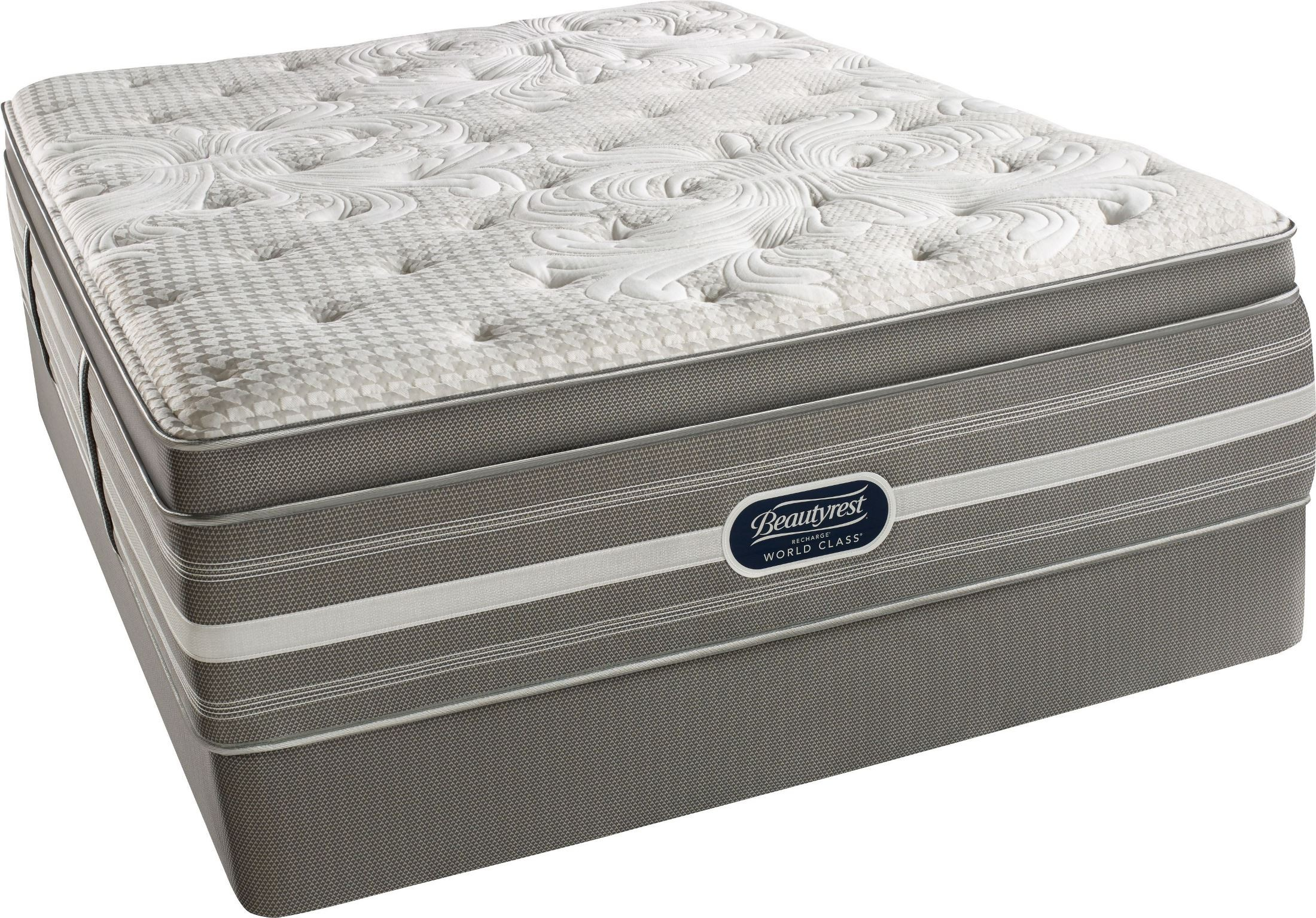 Recharge Chasewood King Pillow Top Luxury Firm Mattress Recharge Chasewood Pillow Top Luxury