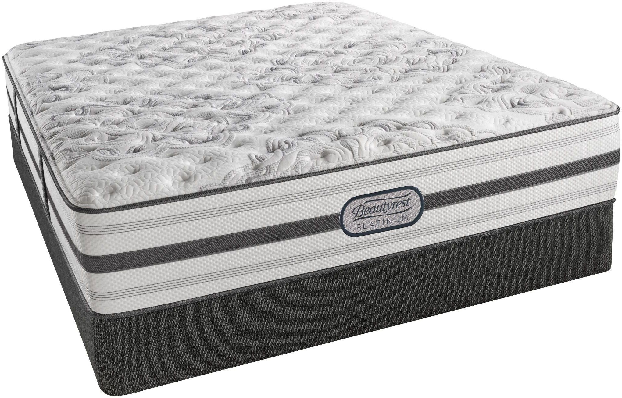Platinum Encino King Pillow Top Plush Mattress PLATINUM