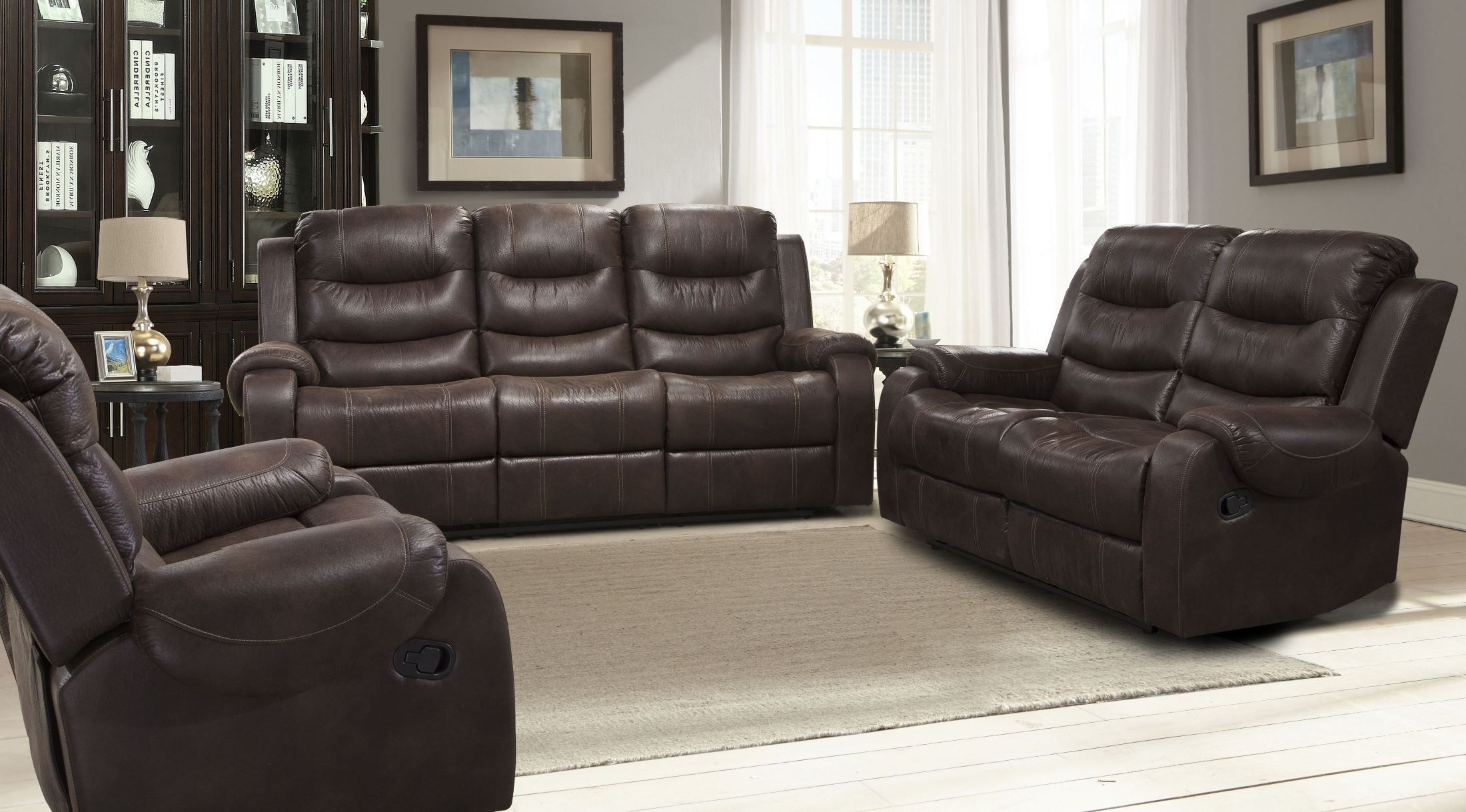 Brahms Mahogany Dual Reclining Living Room Set From Parker Living Mbra 832 Mah Coleman Furniture