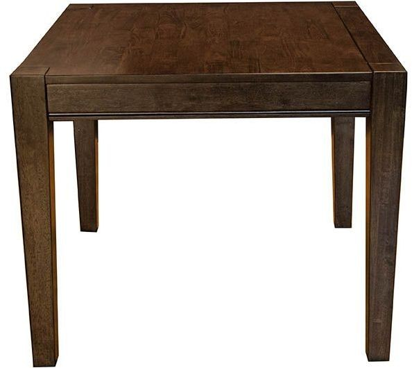 Brooklyn Square Grey Dining Table Gloss Furniture