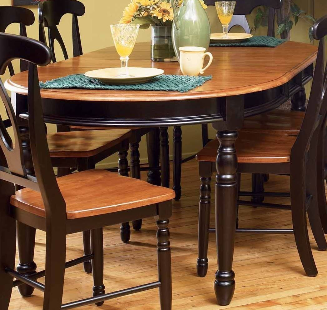 British isles 76 honey espresso extendable oval dining for Espresso dining table