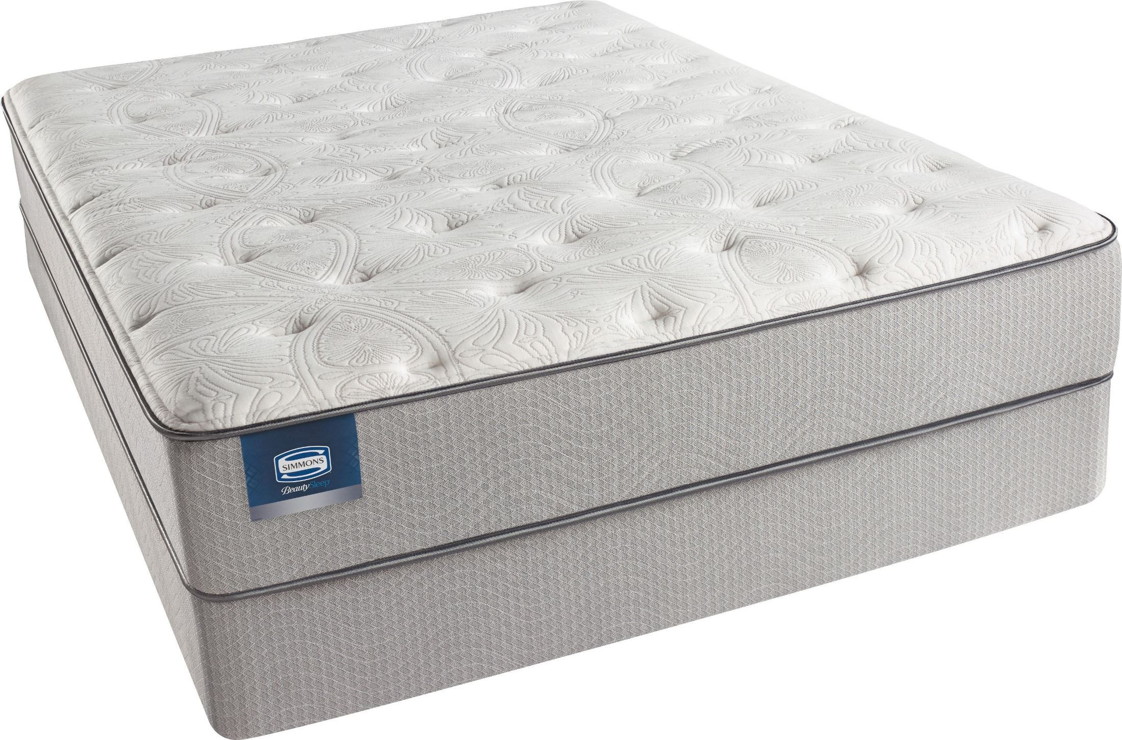 Beautysleep Areca Palm King Firm Mattress With Foundation Beautysleep Areca Palm Firm King With