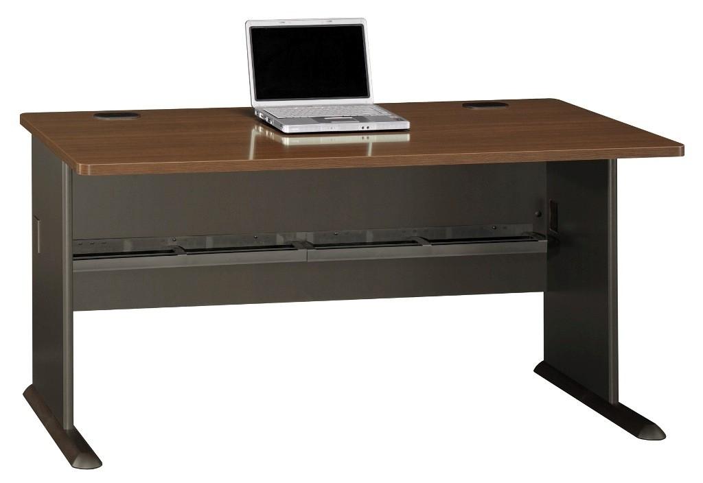Series A Sienna Walnut 60 Inch Desk from Bush WC