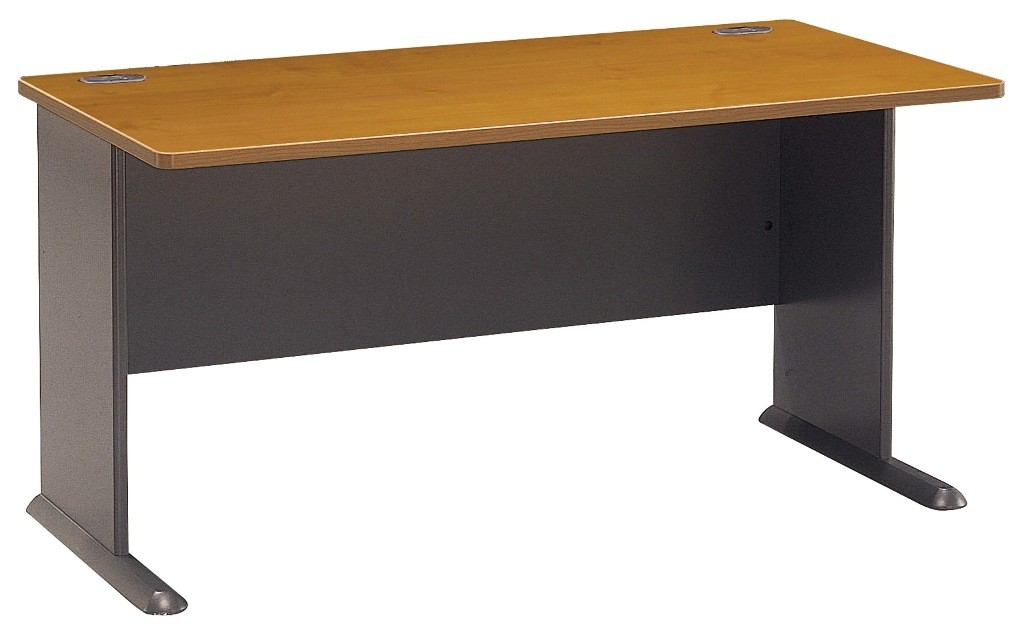 Series A Natural Cherry 60 Inch Desk from Bush WC