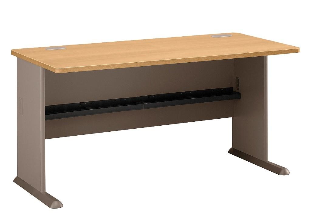 Series A Light Oak 60 Inch Desk from Bush WC