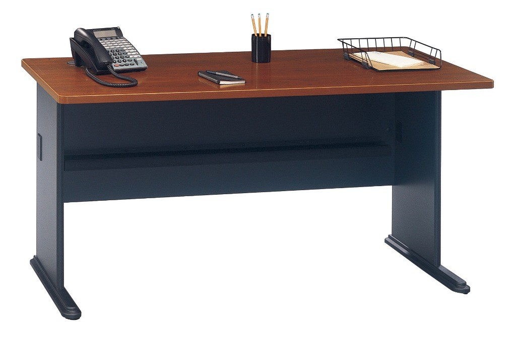 Series A Hansen Cherry 60 Inch Desk from Bush WC A