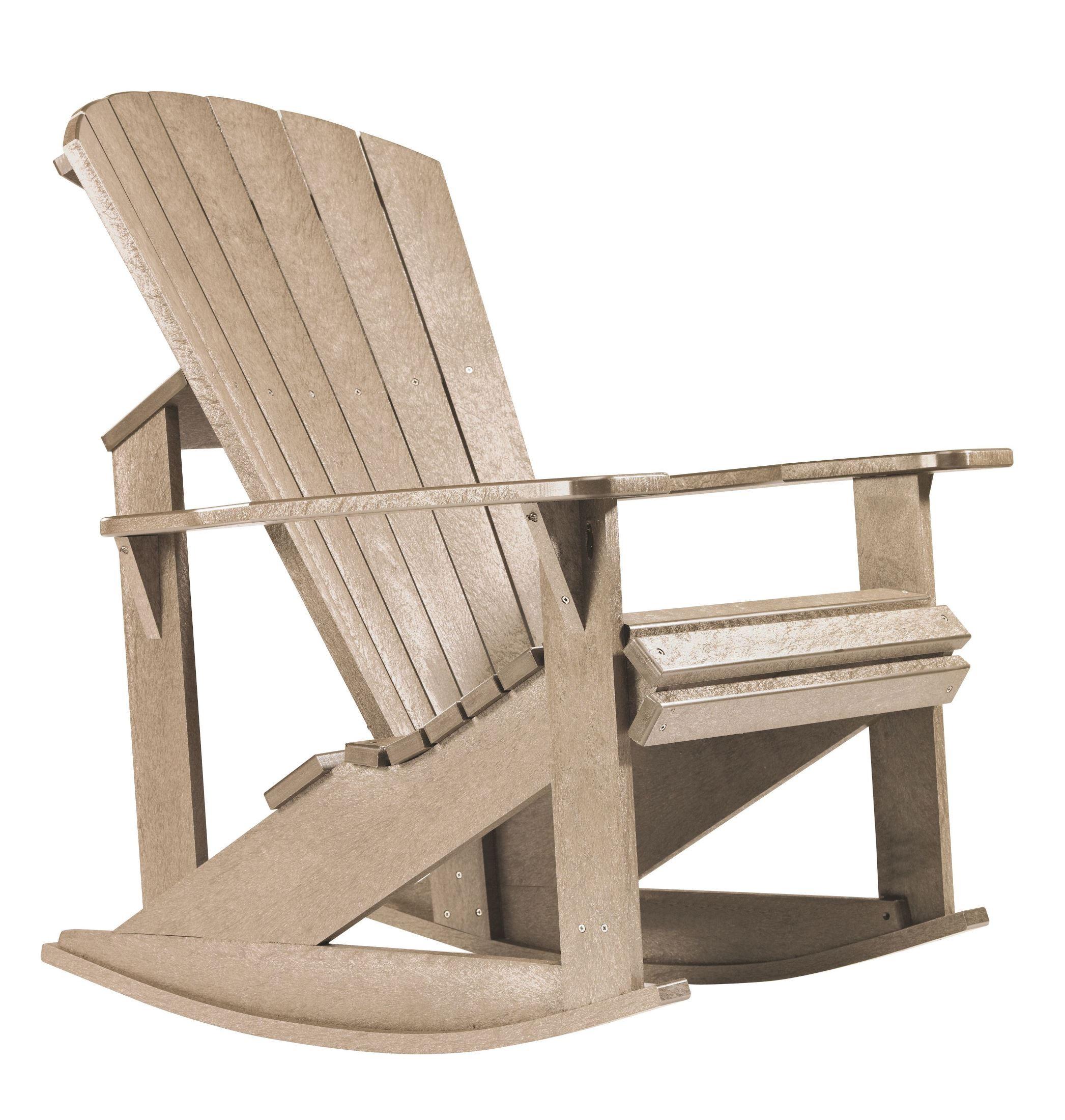 ... Adirondack Rocking Chair from CR Plastic (C04-07)  Coleman Furniture