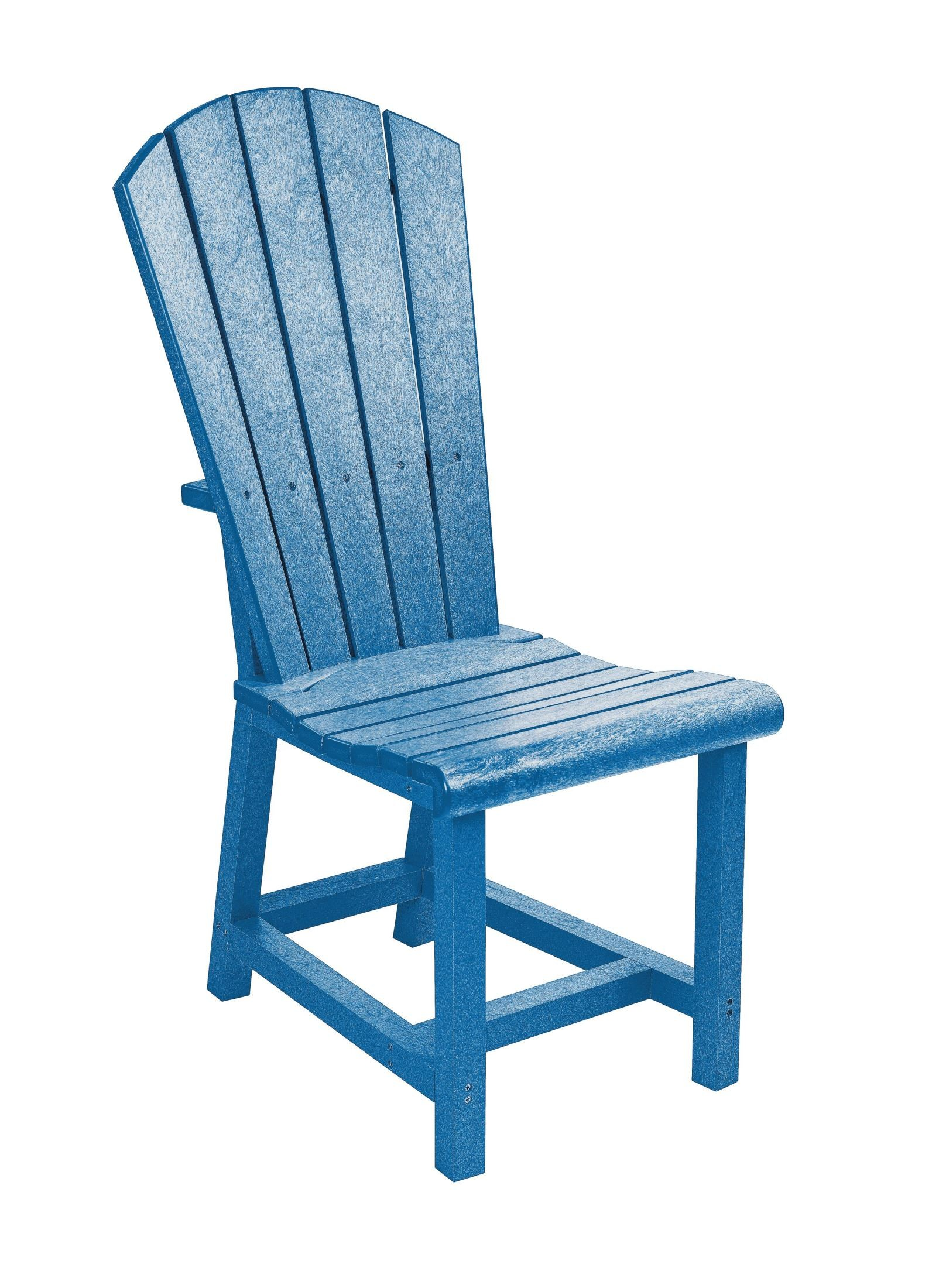 generations blue adirondack dining side chair from cr plastic c11 03