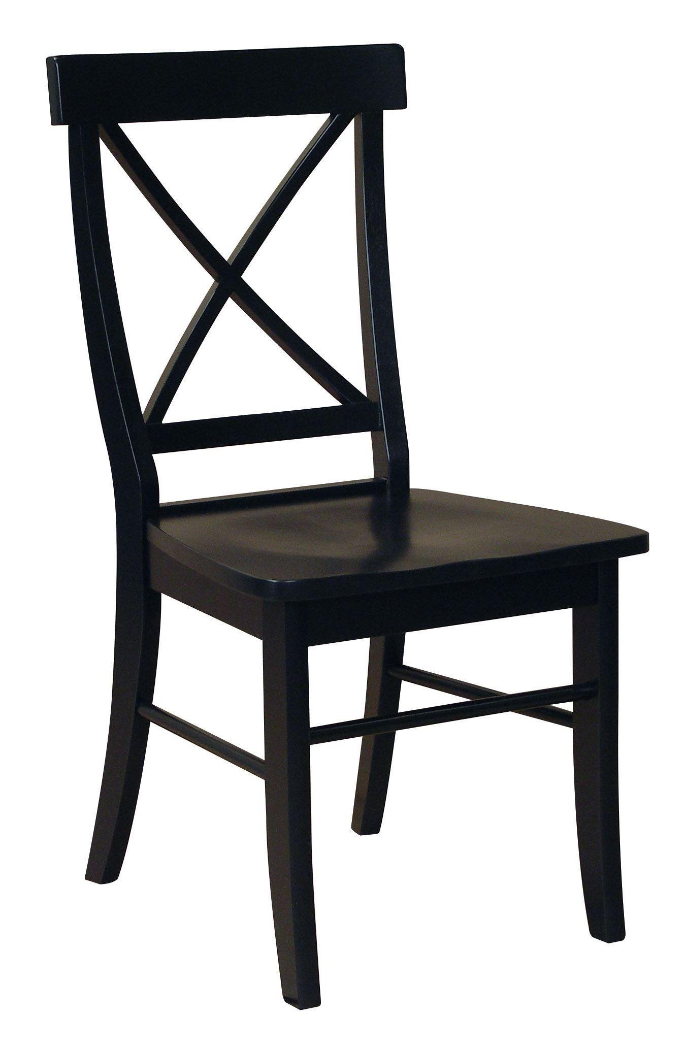 Dining essentials black 30 round pedestal dining room set for Dining room essentials