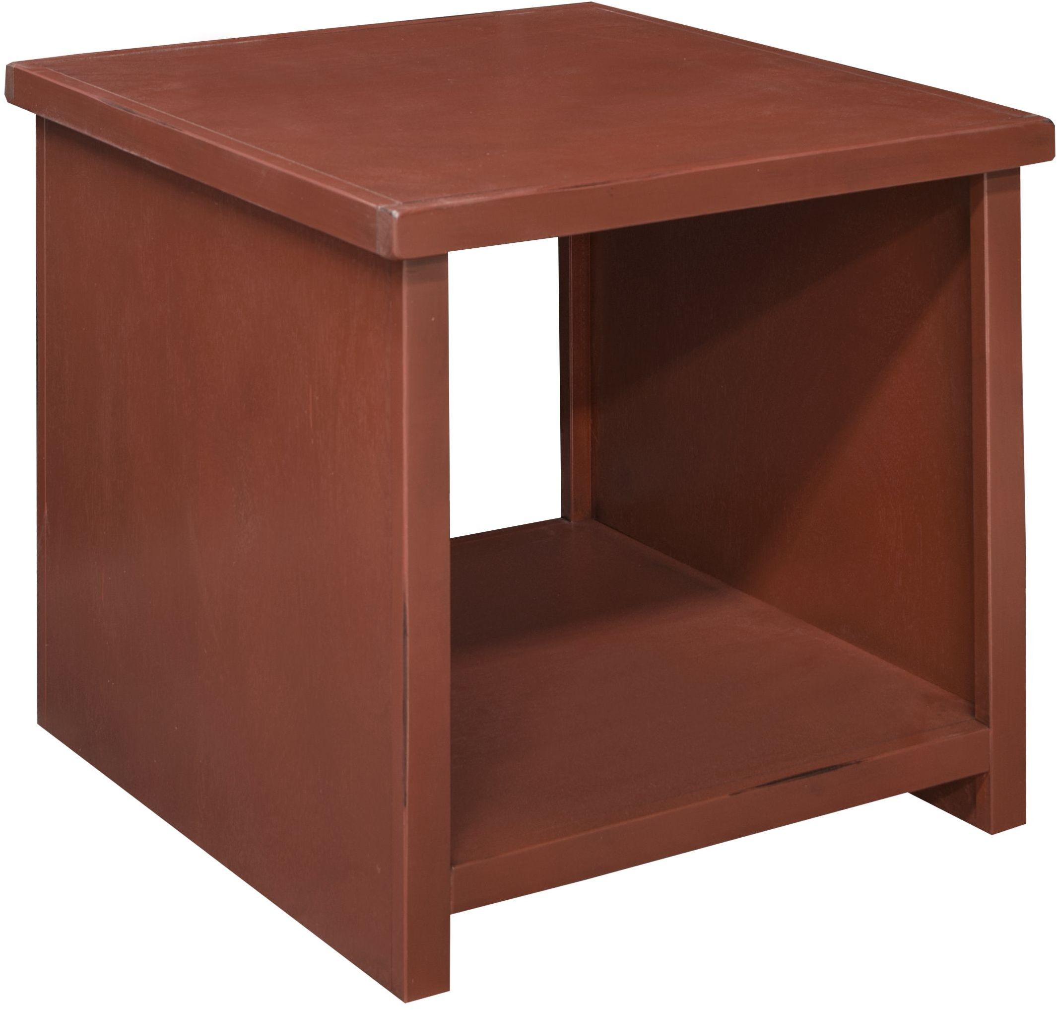 Calistoga red end table ca4130 rrd legends furniture for Red side table