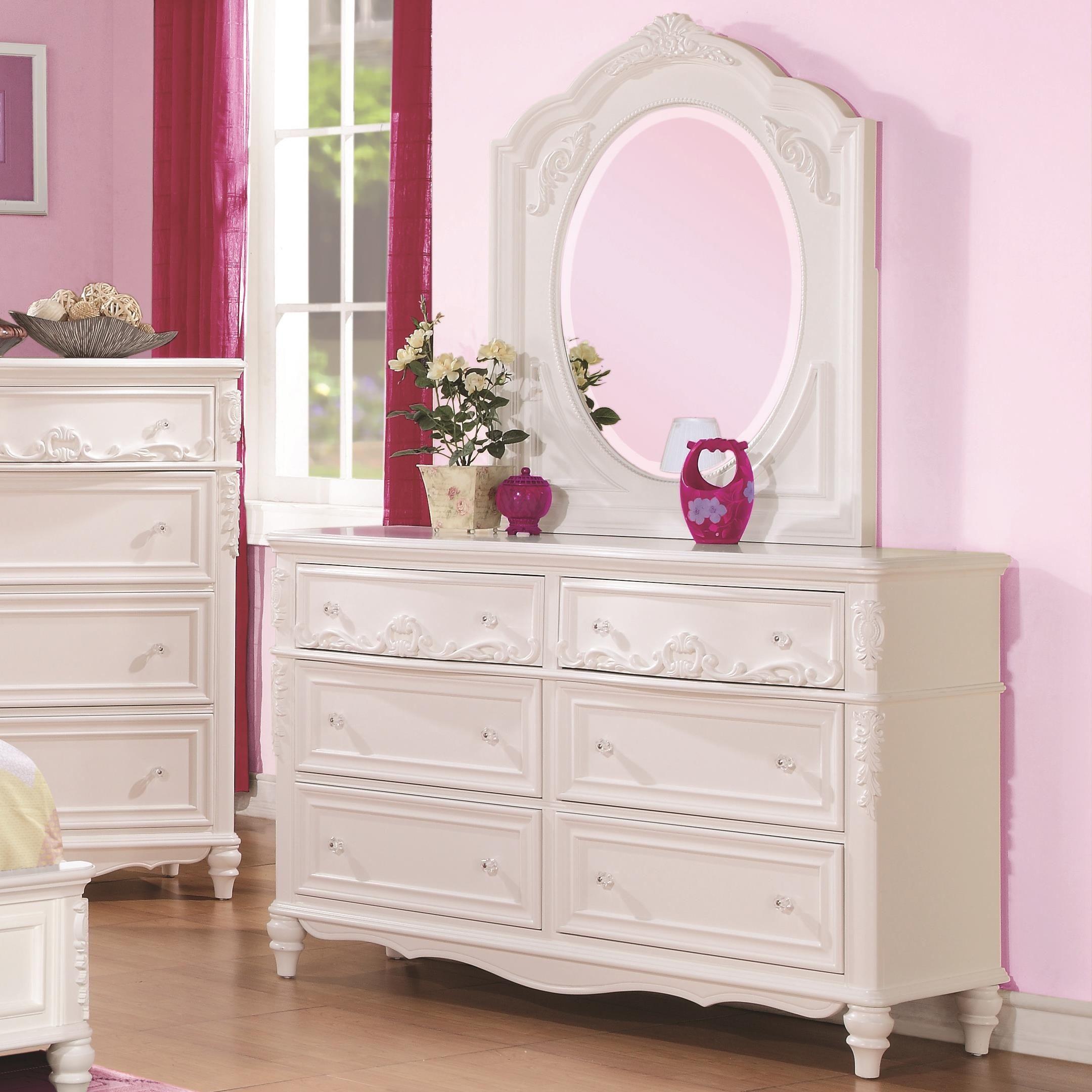 Caroline Diamond Tufted Youth Platform Bedroom Set From Coaster 400720T C