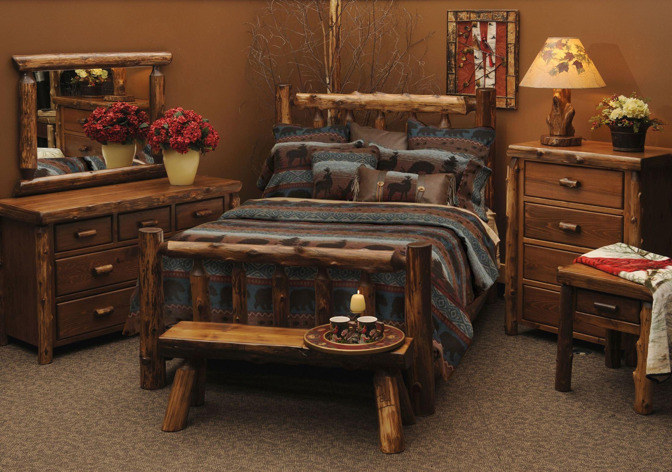 Vintage cedar value five drawer chest from fireside lodge 12031 v vc coleman furniture - Cedar bedroom furniture ...