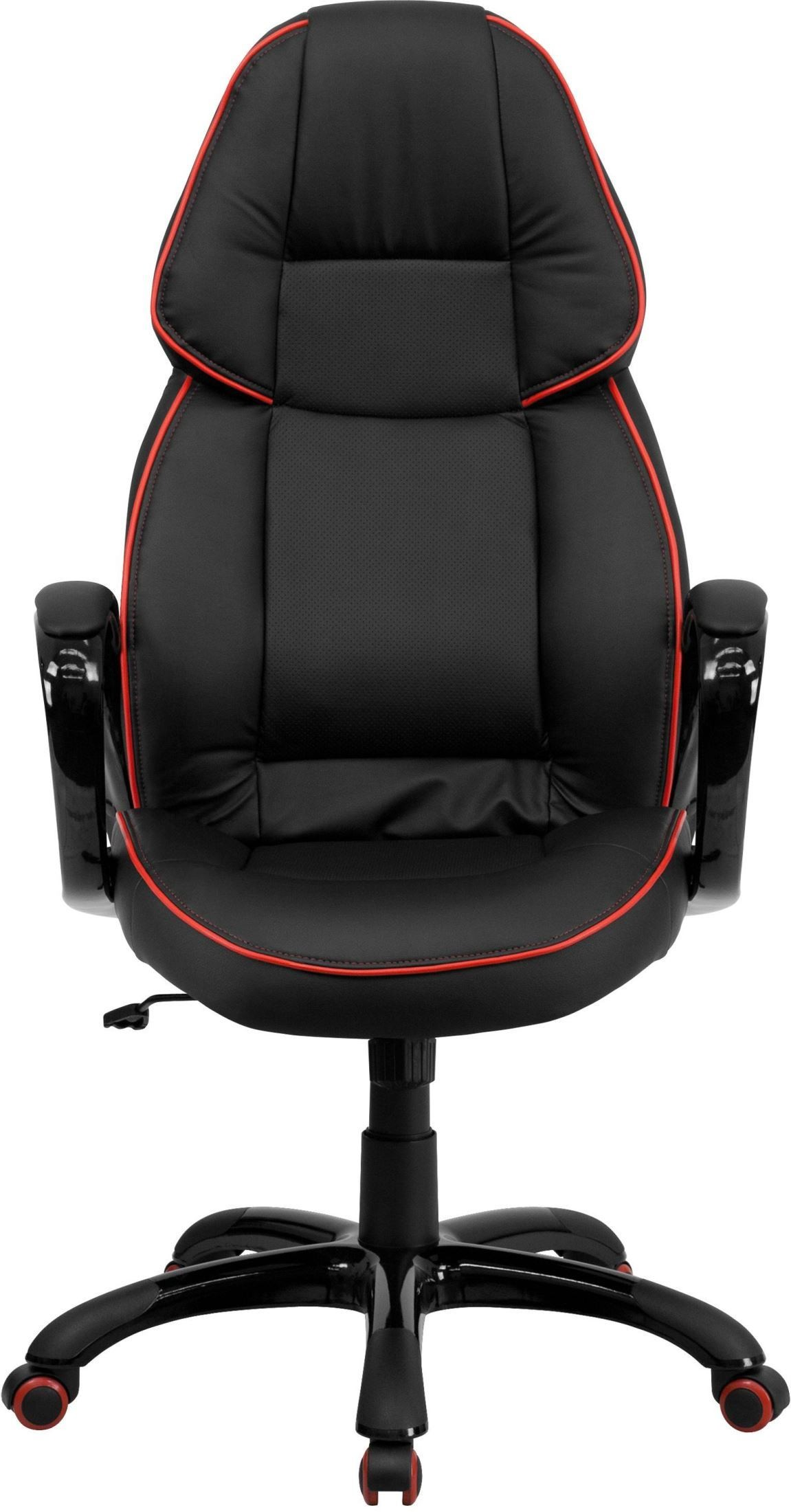 High Back Black Executive Office Chair CH CX0248H01 VEN GG Renegade Furniture