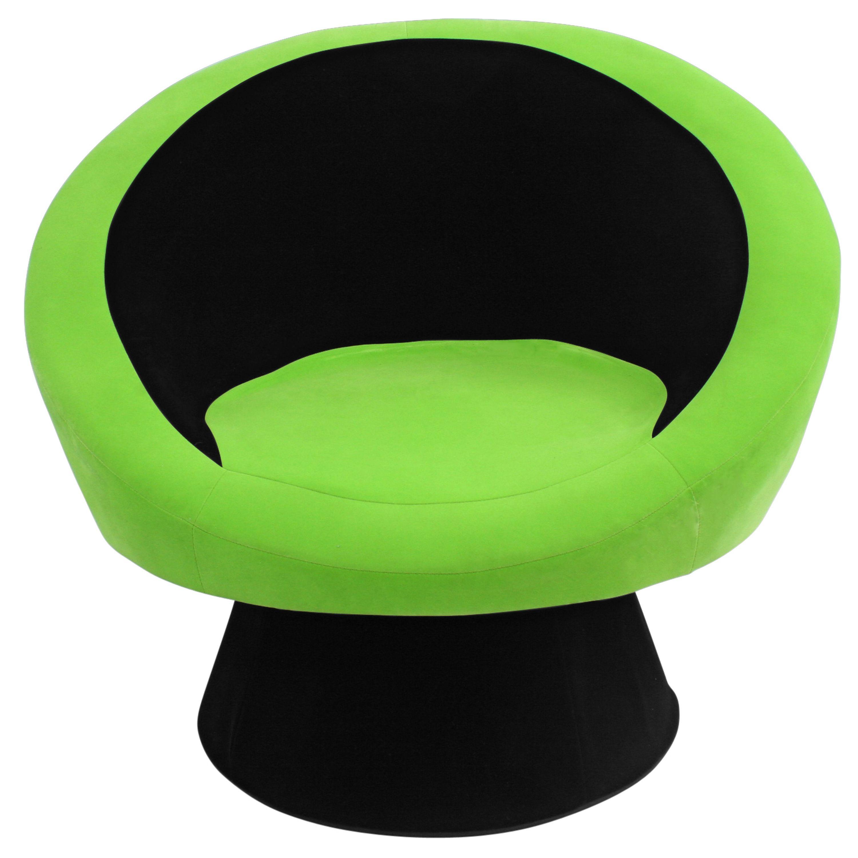 Saucer green chair chr sauce bk gn lumisource