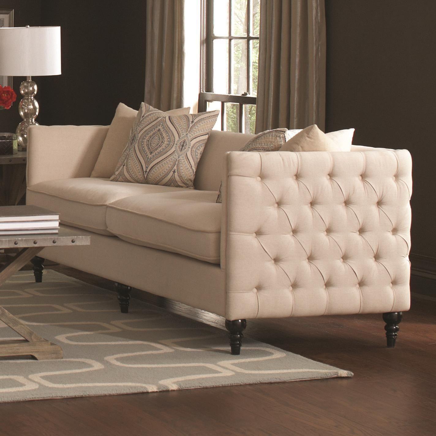 Claxton Beige Living Room Set