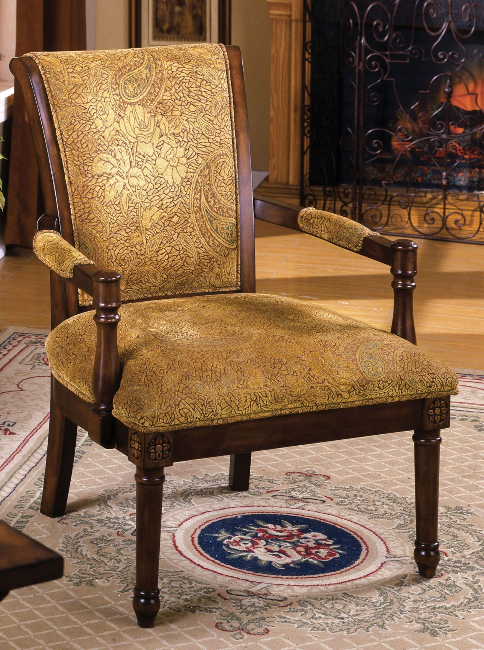 Stockton Accent Chair From Furniture Of America Cm Ac6114 Coleman Furniture