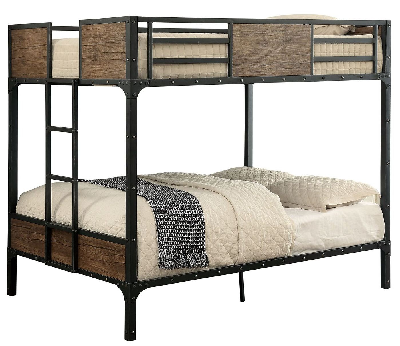 Clapton Full Over Full Metal Bunk Bed Cm Bk029ff