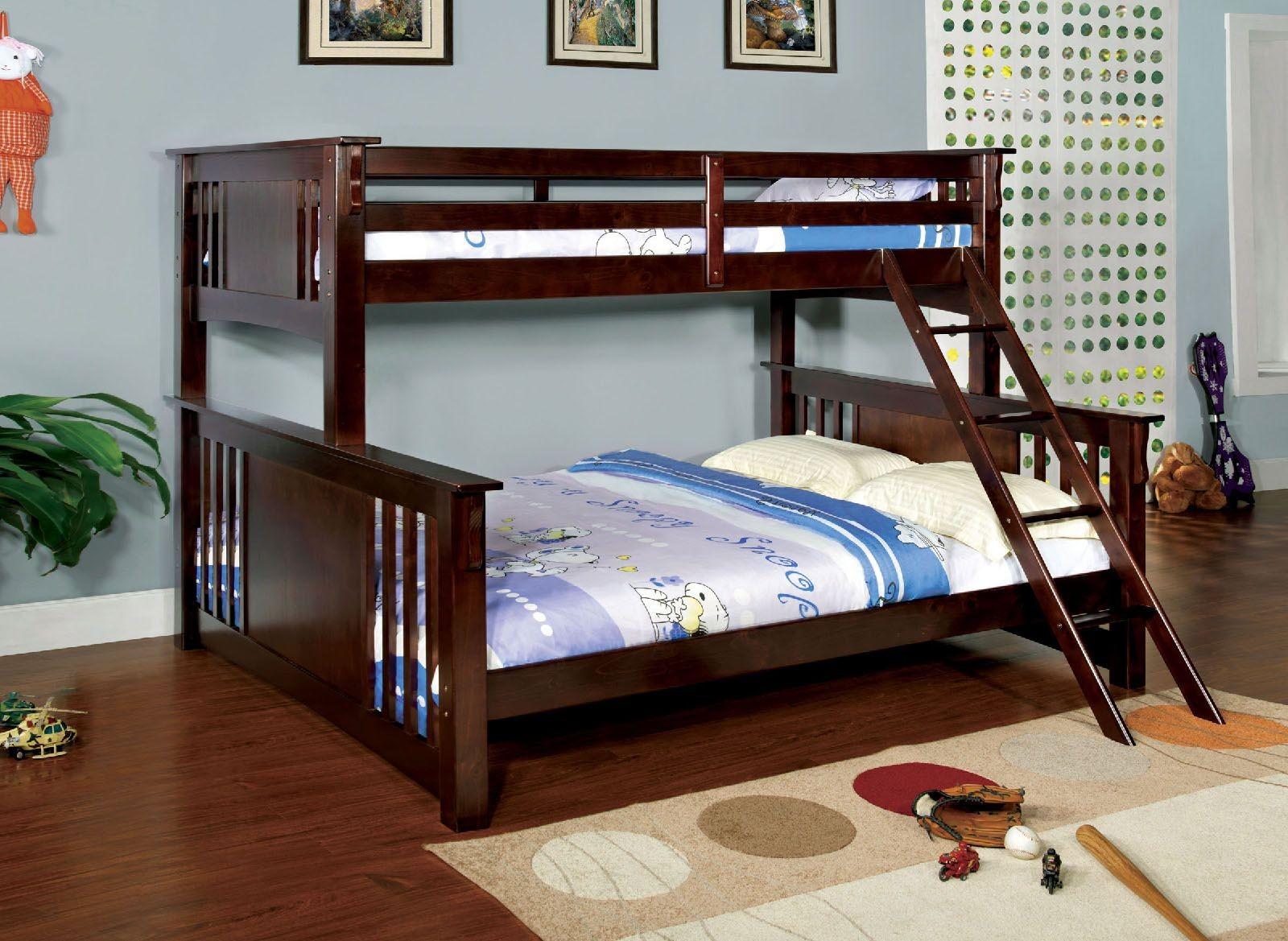 Spring Creek Twin Xl Over Queen Buk Bed Cm Bkexp Furniture Of
