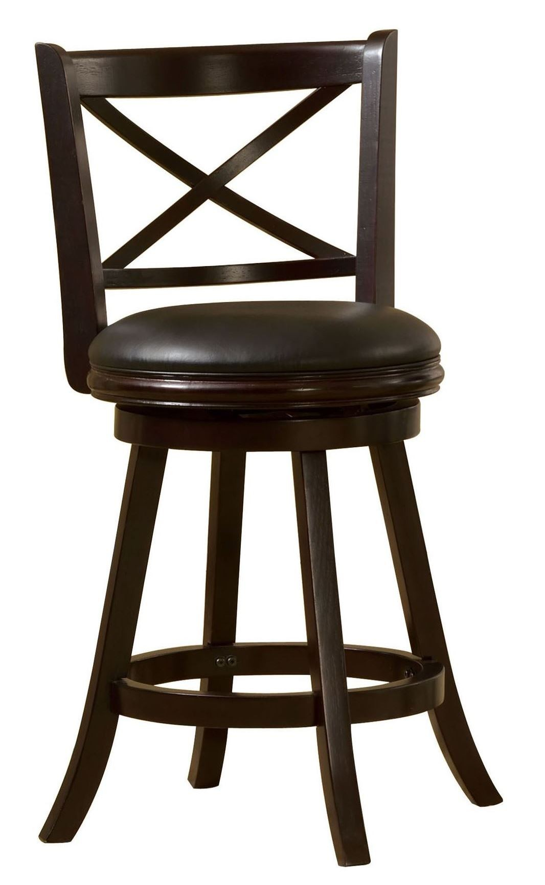 Barnes 24quot Espresso Swivel Bar Stool from Furniture of  : cm br6245 24 from colemanfurniture.com size 1066 x 1729 jpeg 140kB