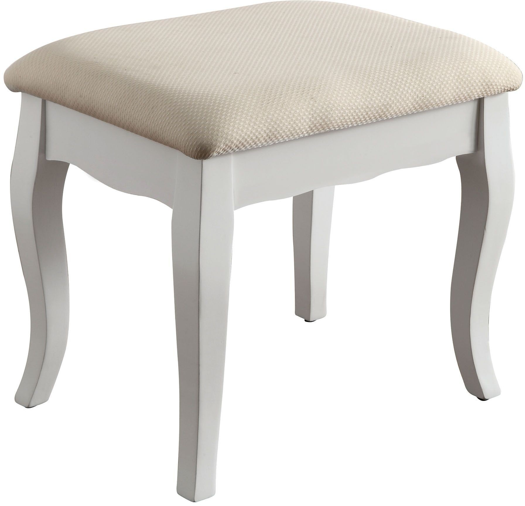 Samantha White Vanity With Stool Cm Dk6433wh Furniture