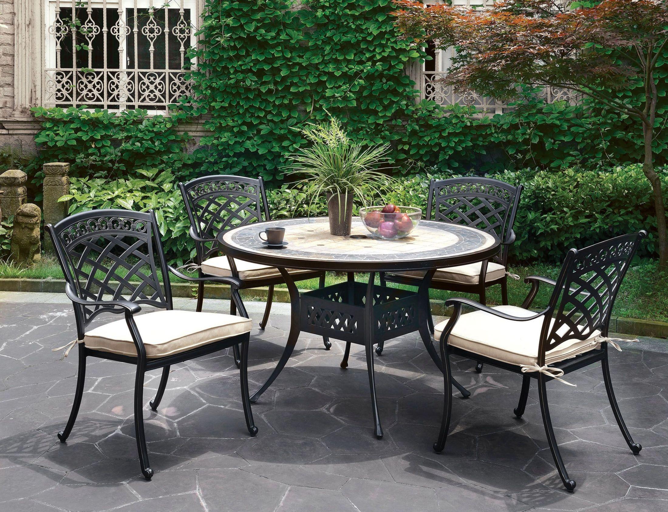 charissa antique black round dining room set cm ot2125 rt furniture