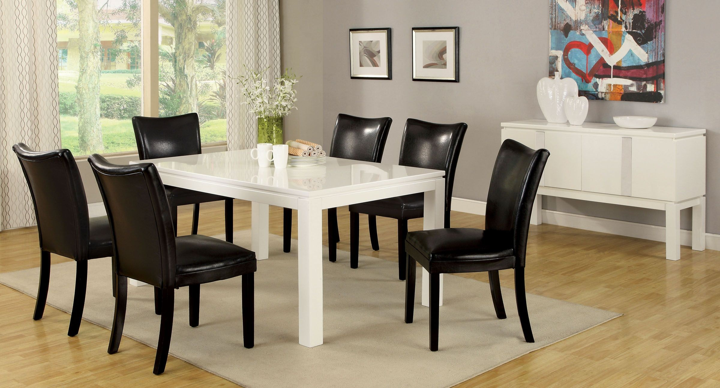 High gloss dining room furniture lamia i high gloss for Furniture of america address