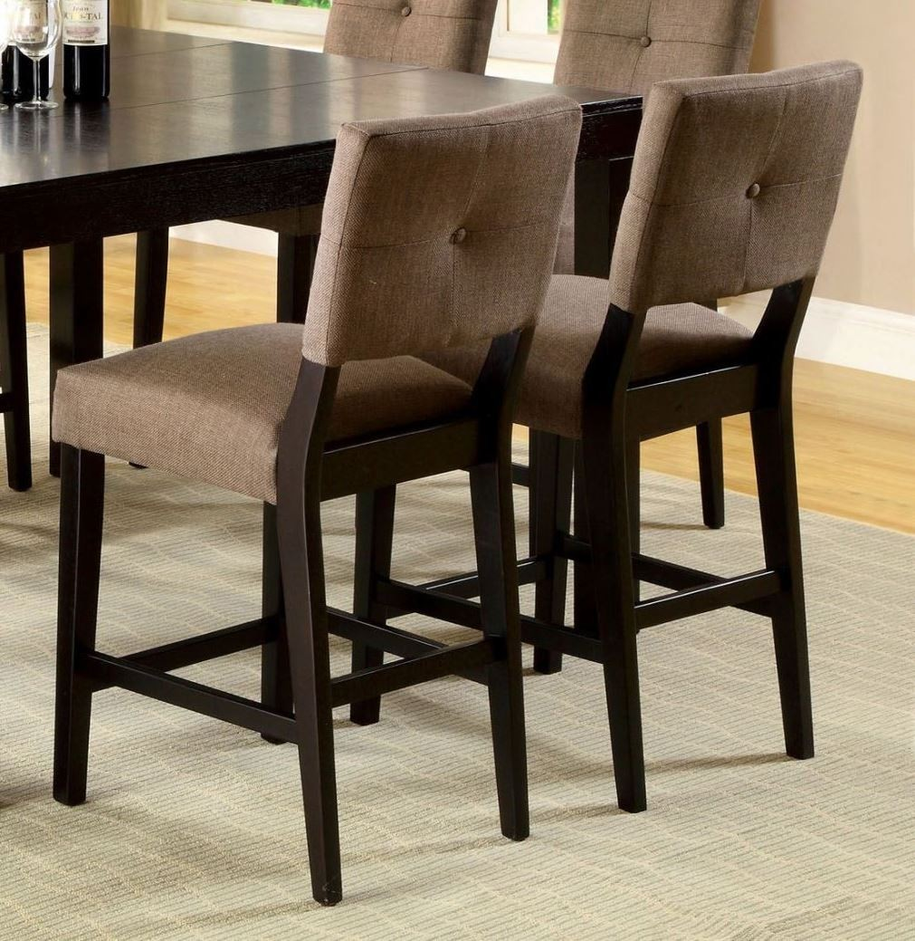 Counter Height Espresso Chairs : Bay Side II Espresso Counter Height Chair Set of 2 from Furniture of ...