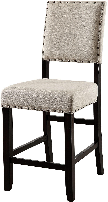 Sania Ii Antique Black Counter Height Dining Room Set CM3324BK PT Furniture