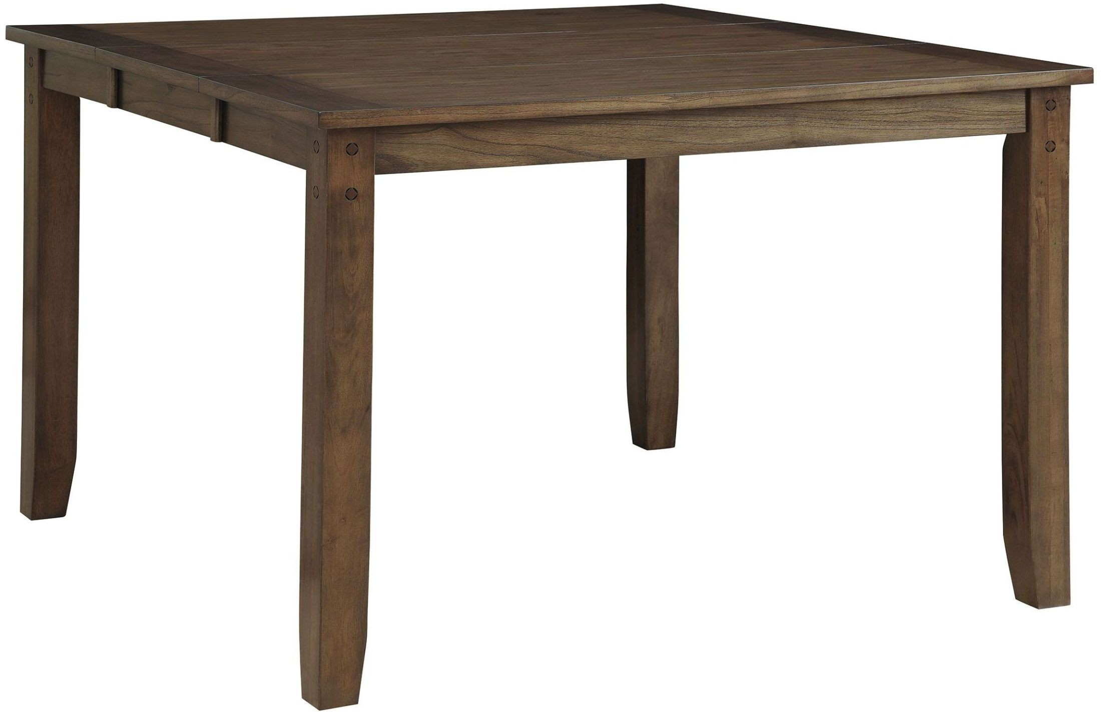 Counter Height Rustic Dining Table : Home > Brockton Ii Rustic Oak Extendable Counter Height Dining Table