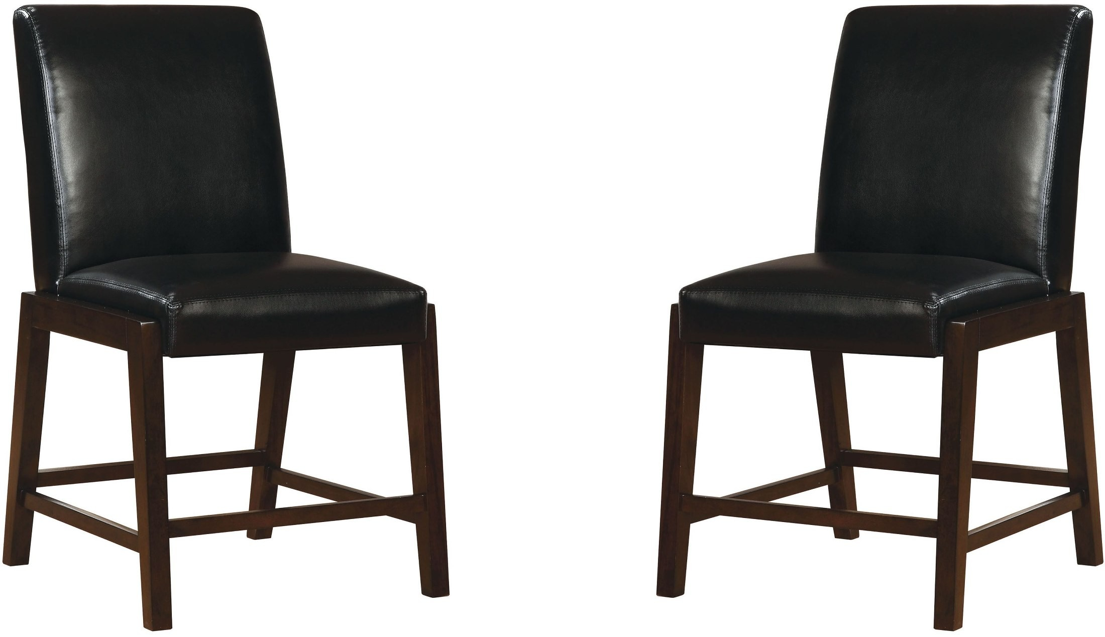 Counter Height Espresso Chairs : Ii Espresso Counter Height Chair Set Of 2, CM3357PC-2PK, Furniture ...