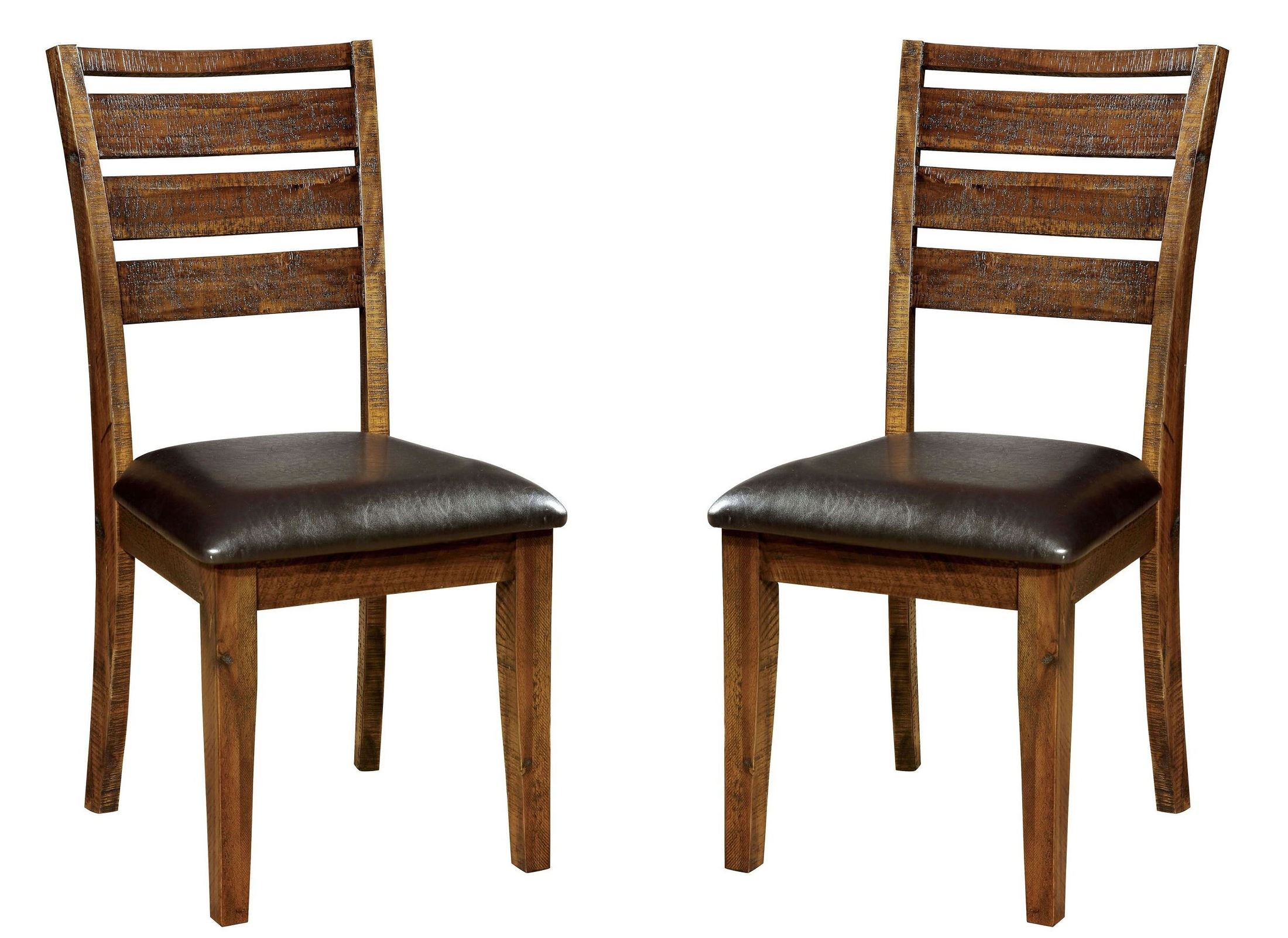 Garrison Side Chair Set of 2 from Furniture of America