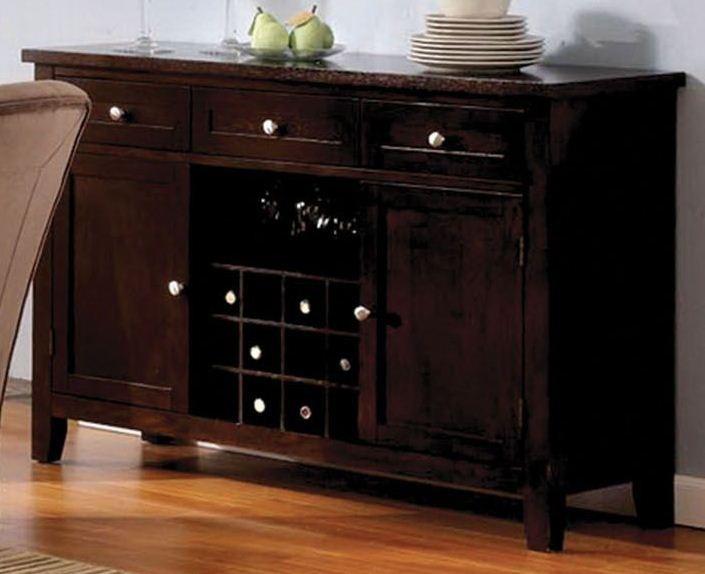 havana espresso round pedestal dining room set from